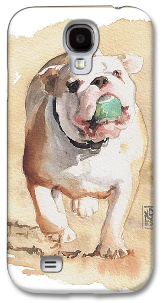 Bull And Ball Galaxy S4 Case by Debra Jones