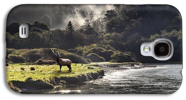 Bull Elk In Wilderness Galaxy S4 Case