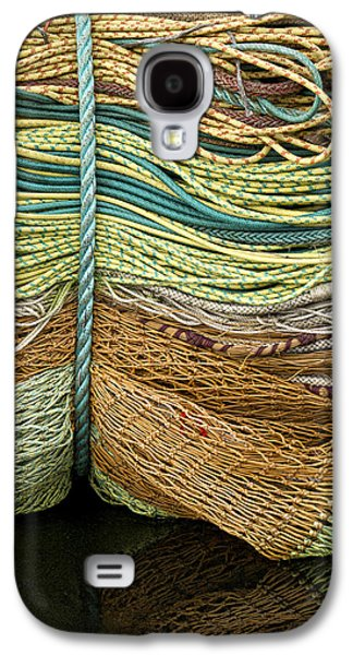 Bundle Of Fishing Nets And Ropes Galaxy S4 Case by Carol Leigh