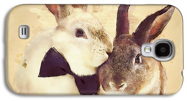 Bunnies Are In Love Galaxy S4 Case