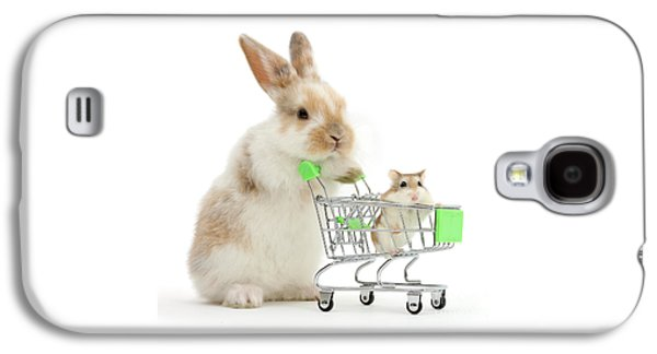 Bunny Shopping Galaxy S4 Case
