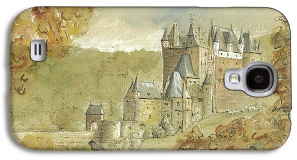 Burg Eltz Castle Galaxy S4 Case by Juan Bosco
