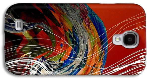 Burning City Sunset Galaxy S4 Case