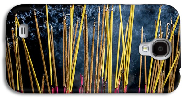 Burning Joss Sticks Galaxy S4 Case