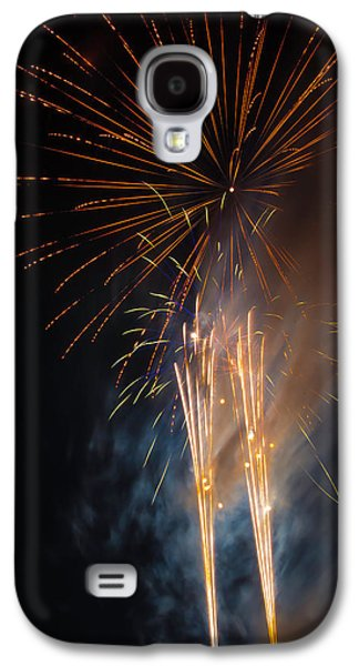 Bursting Colorful Fireworks Galaxy S4 Case