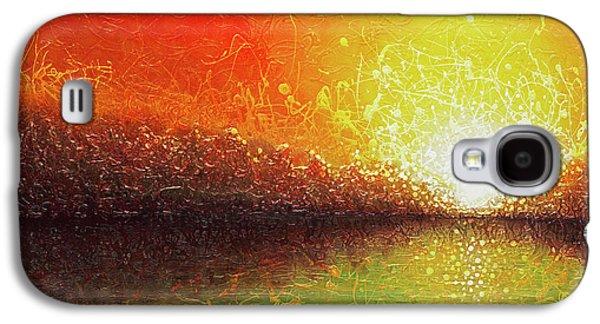 Bursting Sun Galaxy S4 Case