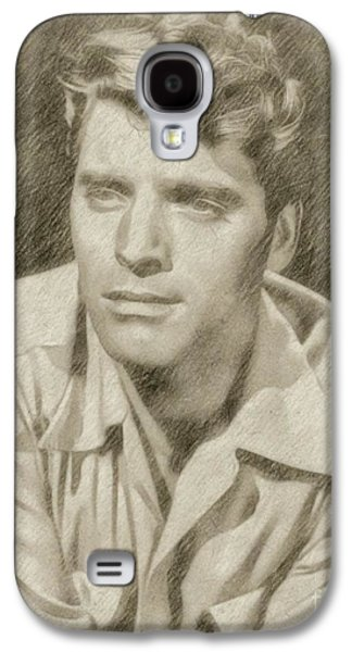 Burt Lancaster Hollywood Actor Galaxy S4 Case by Frank Falcon