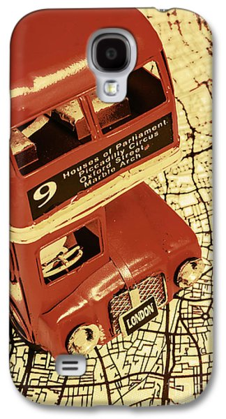 Old Town Galaxy S4 Case - Bussing Britain by Jorgo Photography - Wall Art Gallery