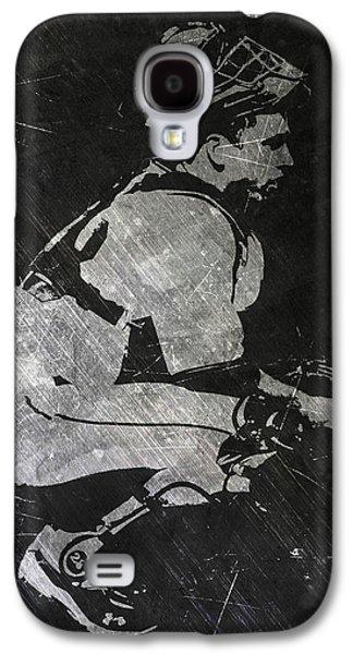 Buster Posey San Francisco Giants Art Galaxy S4 Case by Joe Hamilton