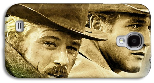 Butch Cassidy And The Sundance Kid     Galaxy S4 Case by Thomas Pollart