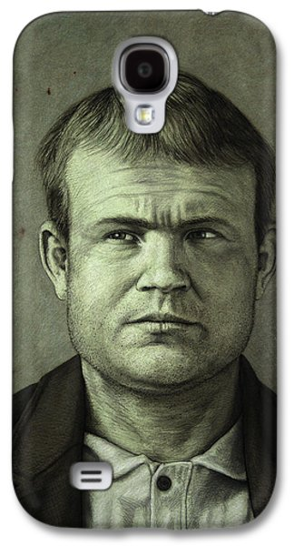 Butch Cassidy Galaxy S4 Case by James W Johnson
