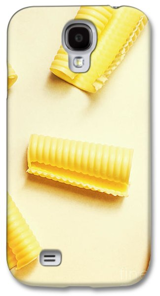 Butter Curls On White Background Galaxy S4 Case by Jorgo Photography - Wall Art Gallery