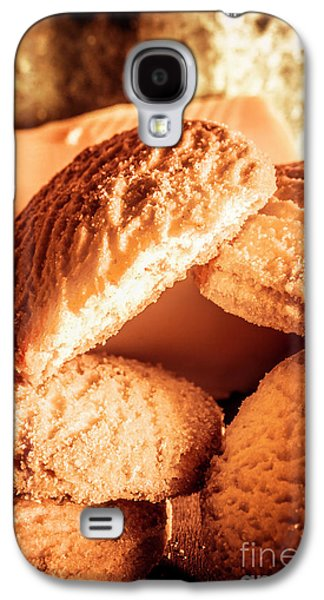 Butter Shortbread Biscuits Galaxy S4 Case by Jorgo Photography - Wall Art Gallery