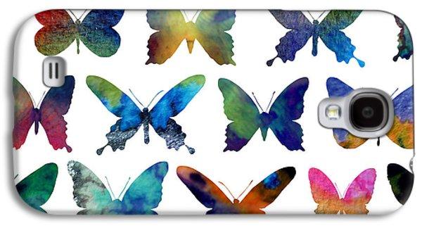 Butterflies Galaxy S4 Case by Varpu Kronholm