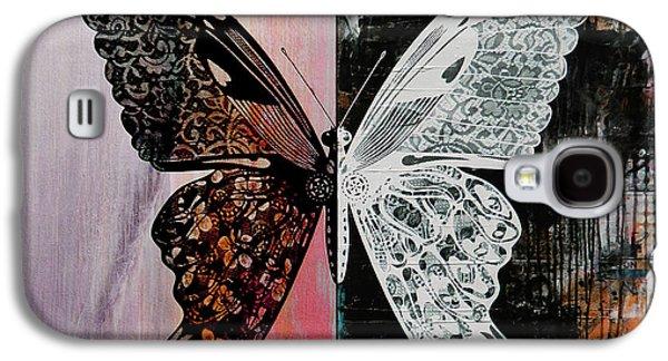 Butterfly Art 45h Galaxy S4 Case by Gull G
