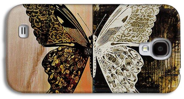 Butterfly Art 78y Galaxy S4 Case by Gull G