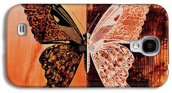 Butterfly Art 88u Galaxy S4 Case by Gull G