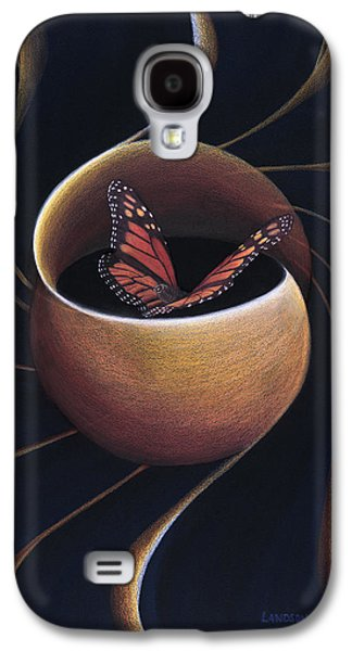 Butterfly Crossing Through The Portal Galaxy S4 Case