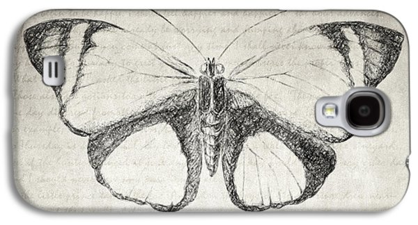 Butterfly Quote - The Little Prince Galaxy S4 Case by Taylan Apukovska