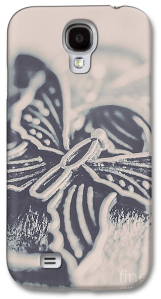 Butterfly Shaped Charm Galaxy S4 Case