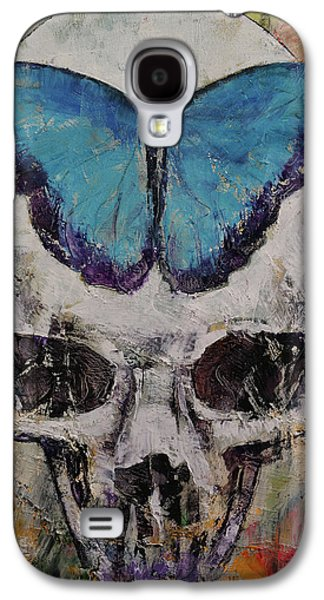 Butterfly Skull Galaxy S4 Case