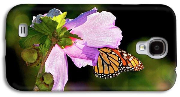 Butterfly Sunset Galaxy S4 Case by Betty LaRue