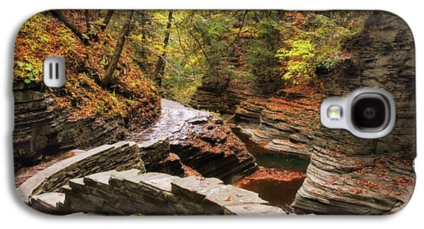 Buttermilk Falls Gorge Galaxy S4 Case by Jessica Jenney