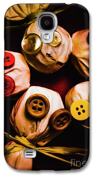 Button Sack Lollypop Monsters Galaxy S4 Case