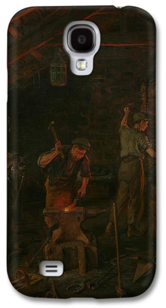 By Hammer And Hand All Arts Doth Stand Galaxy S4 Case by William Banks Fortescue