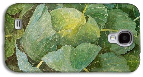 Cabbage Galaxy S4 Case by Jennifer Abbot