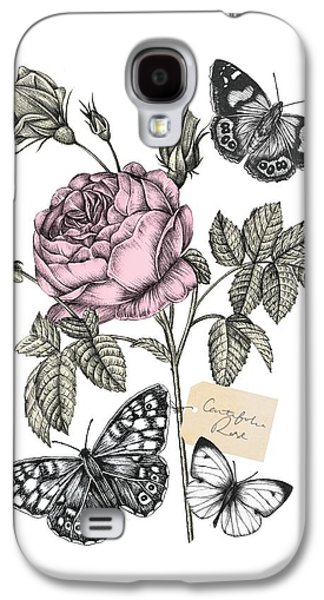 Cabbage Rose Galaxy S4 Case by Stephanie Davies