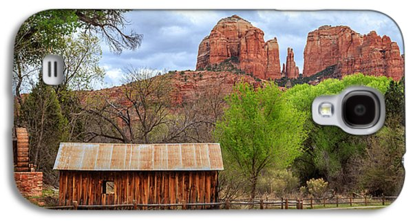 Cabin At Cathedral Rock Galaxy S4 Case