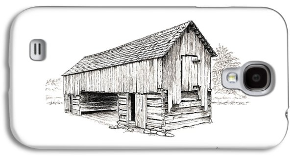 Cable Mill Barn Galaxy S4 Case by Dave Olson