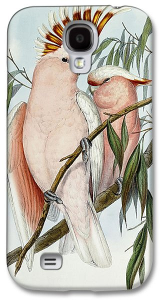 Cacatua Leadbeateri Galaxy S4 Case by John Gould