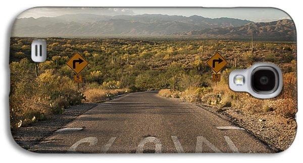 Cactus Landscape Galaxy S4 Case