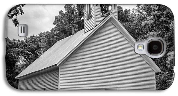 Cades Cove Primitive Baptist Church - Bw 1 Galaxy S4 Case