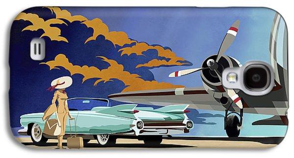 Car Galaxy S4 Case - Cadillac Eldorado 1959 by Sassan Filsoof
