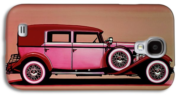 Cadillac V16 Mixed Media Galaxy S4 Case by Paul Meijering