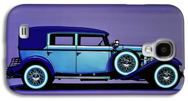 Cadillac V16 1930 Painting Galaxy S4 Case by Paul Meijering