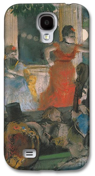 Cafe Concert At Les Ambassadeurs Galaxy S4 Case by Edgar Degas