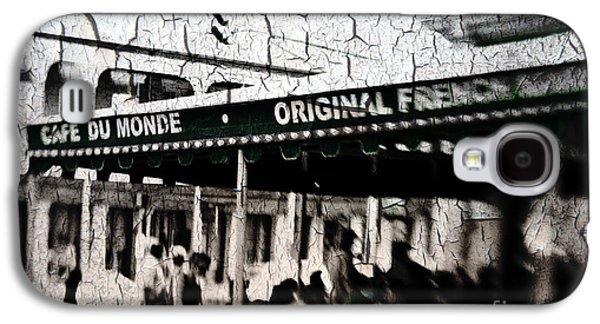 Cafe Du Monde Galaxy S4 Case by Scott Pellegrin