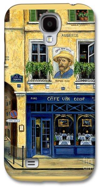 Cafe Van Gogh Galaxy S4 Case