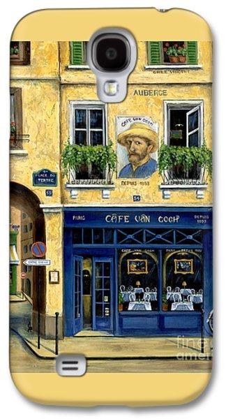 Cafe Van Gogh Galaxy S4 Case by Marilyn Dunlap