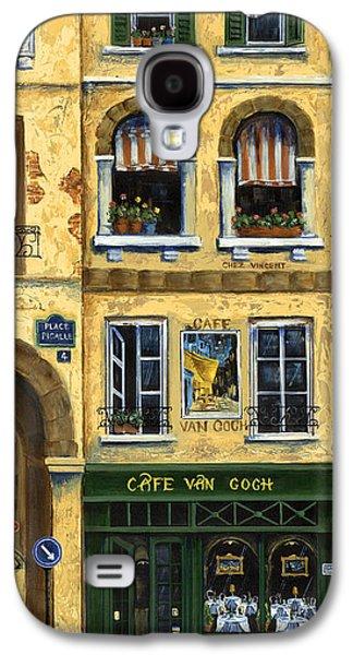 Cafe Van Gogh Paris Galaxy S4 Case by Marilyn Dunlap