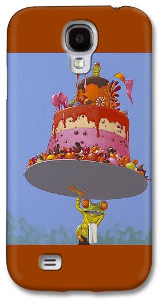 Cake Galaxy S4 Case by Jasper Oostland