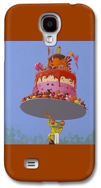 Frogs Galaxy S4 Case - Cake by Jasper Oostland