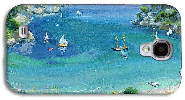 Mediterranean Landscape Galaxy S4 Cases - Cala Galdana - Minorca Galaxy S4 Case by Anne Durham