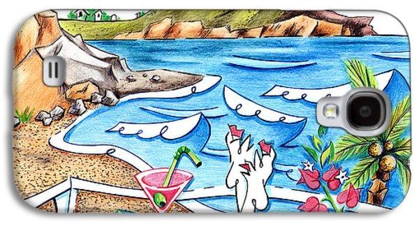 Cala Plomo Costa Del Sol - Parque Natural Cabo De Gata Almeria Galaxy S4 Case