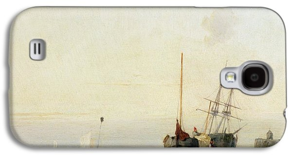Calais Pier Galaxy S4 Case by Richard Parkes Bonington