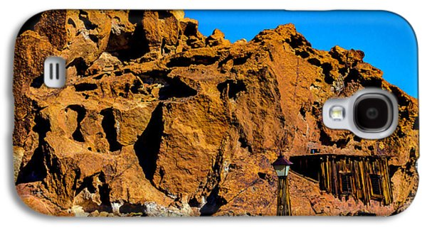 Calico Miners Shack Galaxy S4 Case by Garry Gay